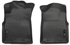 Front Floor Mats for 05-15 Toyota Tacoma Blk WeatherBeater Husky Liners 13941