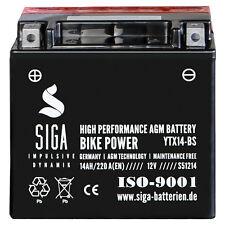 14Ah AGM Motorrad Batterie YTX14-BS Hohe Startkraft 220A/EN 12V Motorradbatterie