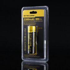 Nitecore 2300mAh NL183 Batteria agli ioni di litio ricaricabile con protezione IC