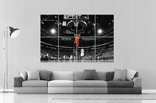 Lebron James BASKETBALL JUMP Wall Art Poster Grand format A0 Large Print
