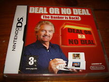 DEAL OR NO DEAL THE BANKER IS BACK ** NEW & SEALED **  Nintendo Ds Game