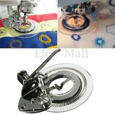 Disc Embroidery Presser Foot Flower Stitch For Brother Singer Sewing Machine