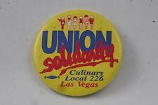 Culinary Union Local 226 Las Vegas UNITE HERE Pin Badge Button Labor 2""