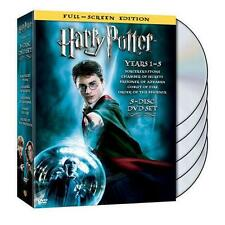 Harry Potter Years 1-5 (DVD, 2008, 5-Disc Set, Full Frame)