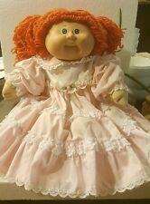 Vintage Original 1978, 1982 Signature Coleco Cabbage Patch Kid Red Hair Blue Eye