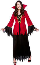 Vampiress Plus Size 26-28 Ladies Halloween Fancy Dress Halloween Vampire Costume