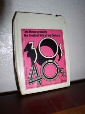 "Greatest Hits of the Century Vol.I ""The 30's & 40's"" -8 Track- (6-34898)"