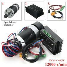CNC 400W ER11 Brushless Spindle Motor Driver Speed Controller For Engraving