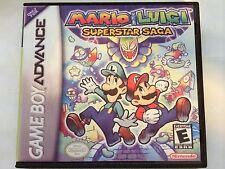 Mario and Luigi Superstar Saga - GBA - Replacement Case - No Game