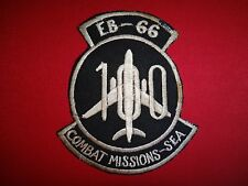 "Vietnam War Patch US Air Force EB-66 ""100 COMBAT MISSIONS In Southeast Asia"""
