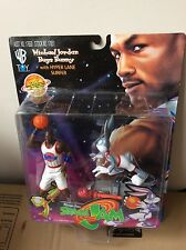 Rare Space Jam Warner Bros Michael Jordan Bugs Bunny Sealed Figure Looney Tunes