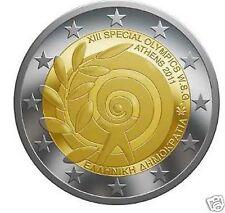 manueduc   GRECIA  2011  2 EUROS Conmemorativa   SPECIAL OLYMPICS  NUEVA