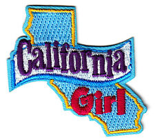 """CALIFORNIA GIRL""- Iron On Patch/Southwest, State Shape/Words, Names, Sayings"