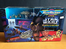 Star Wars Micro Machines Space: C-3PO/Cantina Transforming Playset