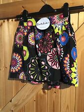 "Lovely Colourful Firework Patterned Skirt. Tags Attached. W28"" L15"" Approx 8"