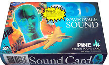 New Pine PT2318 ISA Sound Card Crystal 4235