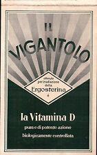 """CARTOLINA PUBBLICITARIA """" IL VEGANTOLO """" CO-FA. E. MERCK MILANO C4-1695"""