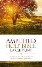 Amplified Holy Bible, Large Print : Captures the Full Meaning Behind the...