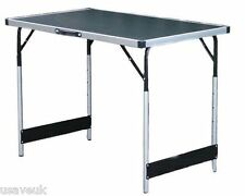 Folding Aluminium Dining & Preparation Camping Table Large Strong Lightweight