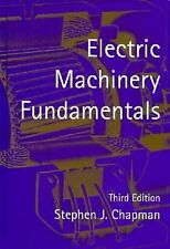 Electric Machinery Fundamentals by Stephen J. Chapman (1998, Hardcover)