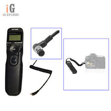 JYC Wired Timer Remote Control Shutter Release MC-N1 for Nikon D3 D700 D300 D200