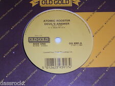 "7"" - Atomic Rooster / Devil´s Answer & Tomorrow Night - UK 1984 # 0767"