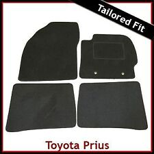 Toyota Prius Mk3 Pre-facelift 2009 -2011 Tailored Fitted Carpet Car Mats BLACK