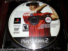 Tiger Woods PGA Tour 08 (Sony PlayStation 2, 2007) Tested Good! Game Disc Only