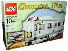 Lego Train #10022 Santa Fe Train Cars NEW Sealed