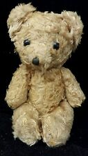 "Antique 1920s Mohair Teddy Bear.  Jointed. Glass Eyes. 7"" Vintage Steiff?"