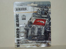 WWII Micro Armour GHQ War Games 1/285 Scale G-95 SdKfz 7/1 20mm FLAK