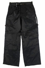 #4455 NAUTICA COMPETITION BLACK COTTON & NYLON PANTS MENS 32 X 30