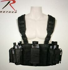 Rothco operators tactical chest rig survival emergency disaster black bug outbag