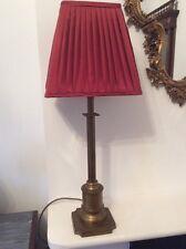 Laura ashley antique laiton table/lampe de bureau