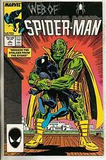 Marvel Comics Web Of Spiderman #25 April 1987 NM-