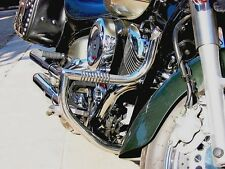 YAMAHA XVS 1100 DRAGSTAR (VSTAR),CLASSIC/CUSTOM STAINLESS STEEL CUSTOM CRASH BAR