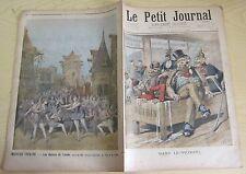 Le petit journal 1896 272 Dans le pétrin  nouveau théatre
