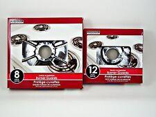 New SPECIAL CUT Stove Burner Bibs, Aluminum Foil Drip Guard Liners Covers, 20pcs