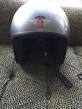 Davida Jet Helmet (Motorcycle) Silver Medium
