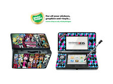 Monster High Piel de vinilo adhesivo para Nintendo 3ds