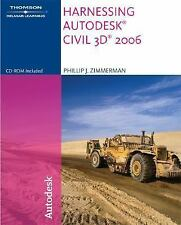 Harnessing Autodesk Civil 3D 2007 by Zimmerman, Phillip J.