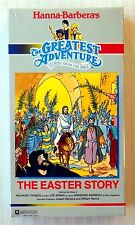 Hanna-Barbera's The Greatest Adventure ~ The Easter Story ~ New VHS ~ Bible
