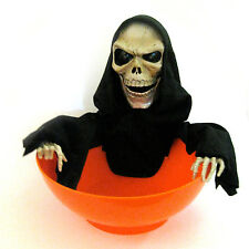 Animated Talking Candy Bowl Dish Funny Haunted House Halloween Party Prop 10""