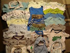 Lot of 25 pieces boys, various 3-6 months summer-spring clothing outfits