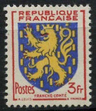 France 1951 SG#1125, 3f Franch-Comte Arms MNH #D5123