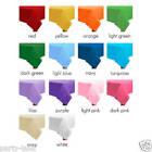Rectangle Table Covers Plastic Table Cloths Wedding Baby Shower Party Decoration