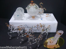 Arribas Bros Cinderella Carriage, horses and shoe, (damaged carriage)