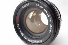 """""""Excellent+++"""" Canon FD 50mm f/1.4 SSC MF Lens From Japan #0007"""