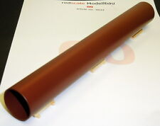 "Redscale 9037 - Steel Pipe 8"" x 1"" - Red Anti-Rust Wagon Load 00 Gauge 1st Post"