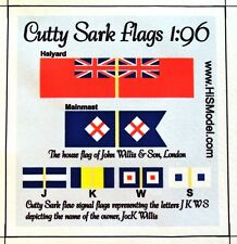 Revell Cutty Sark - set of Flags and Decoration for model, 1:96